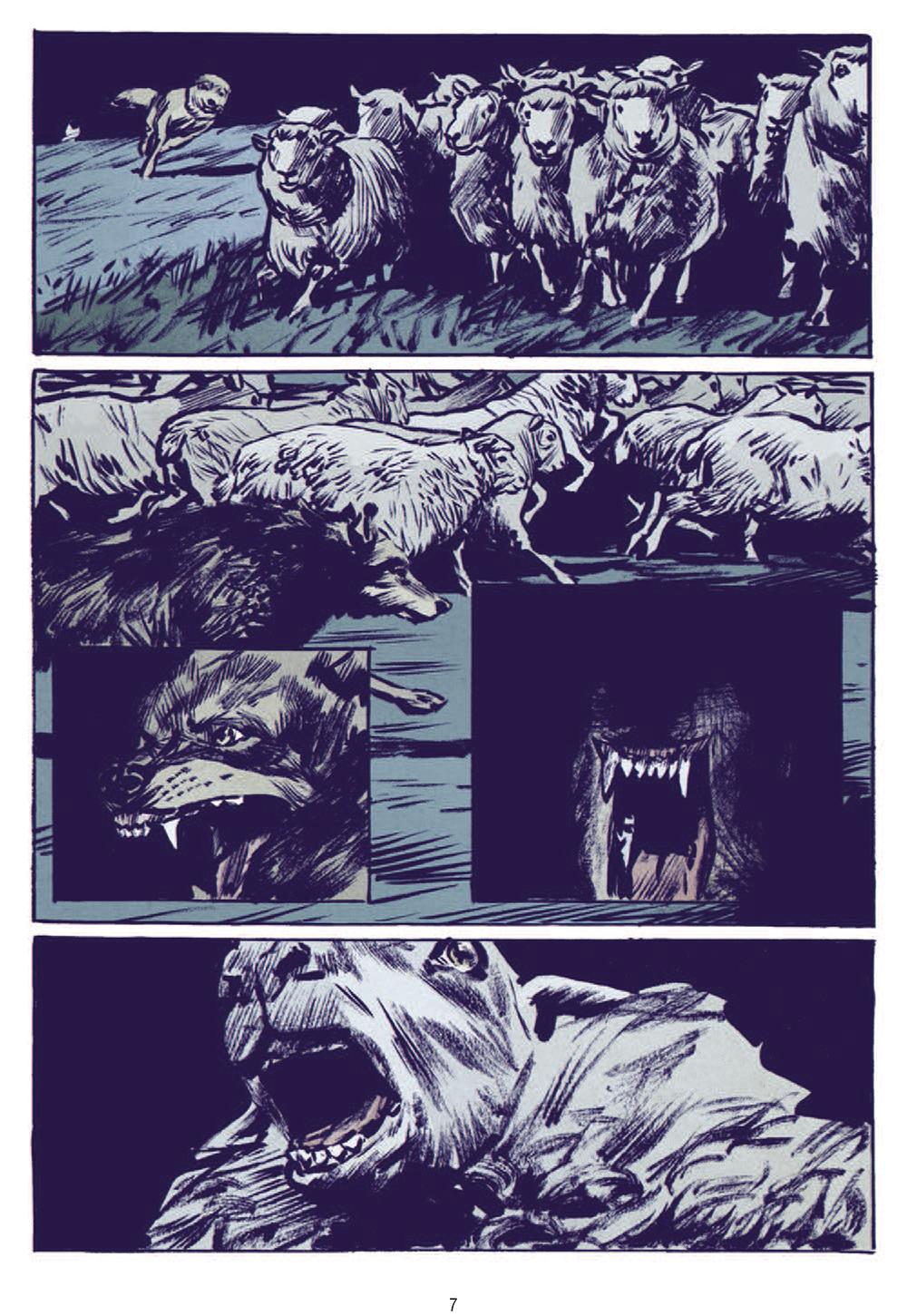 Extrait n°3 de la bd Le Loup par Jean-Marc Rochette
