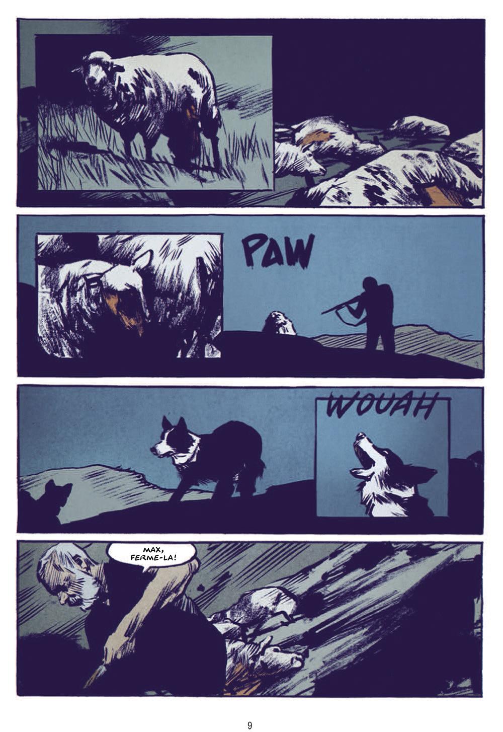 Extrait n°5 de la bd Le Loup par Jean-Marc Rochette