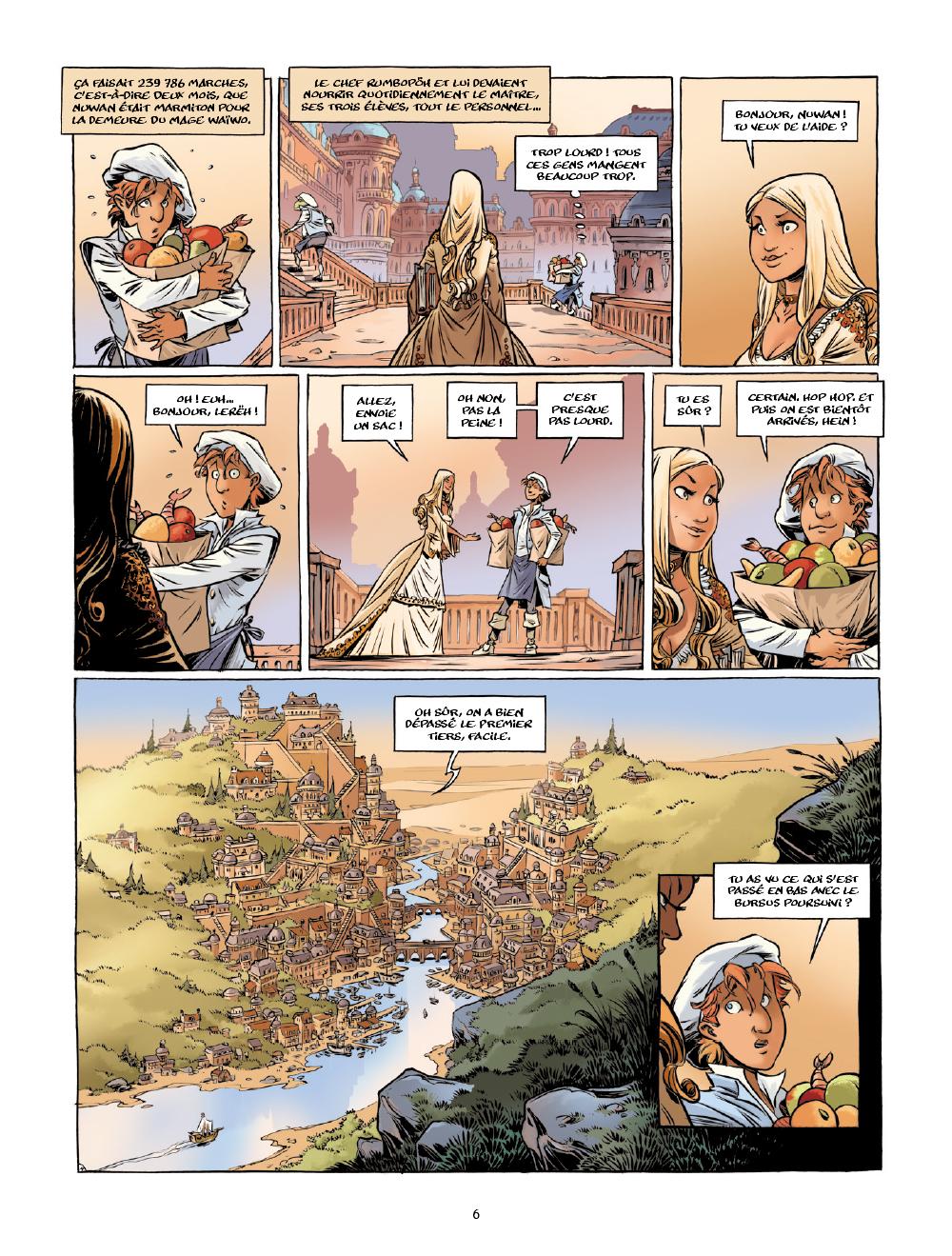 Extrait n°5 de la bd tome 1 par Arleston