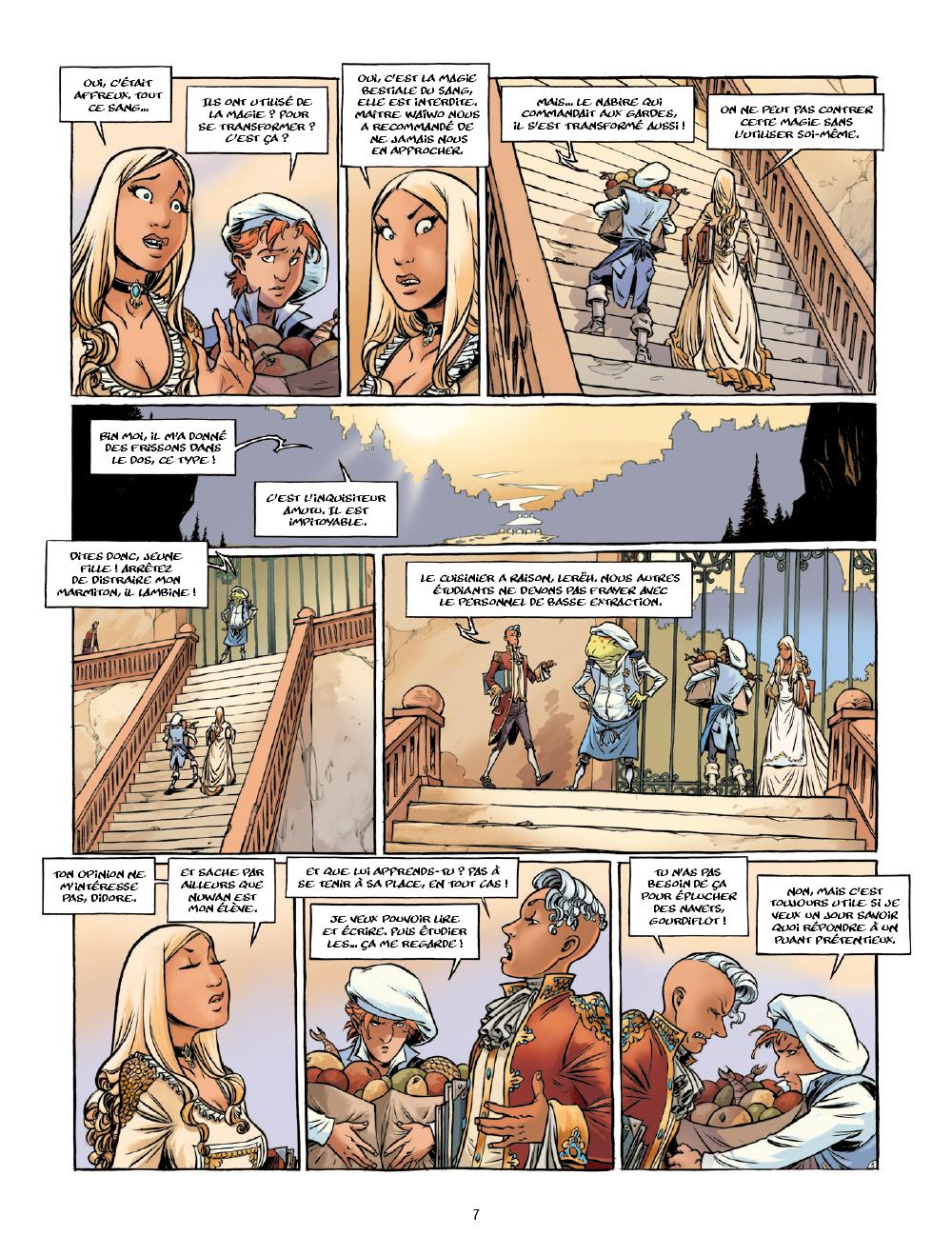 Extrait n°6 de la bd tome 1 par Arleston