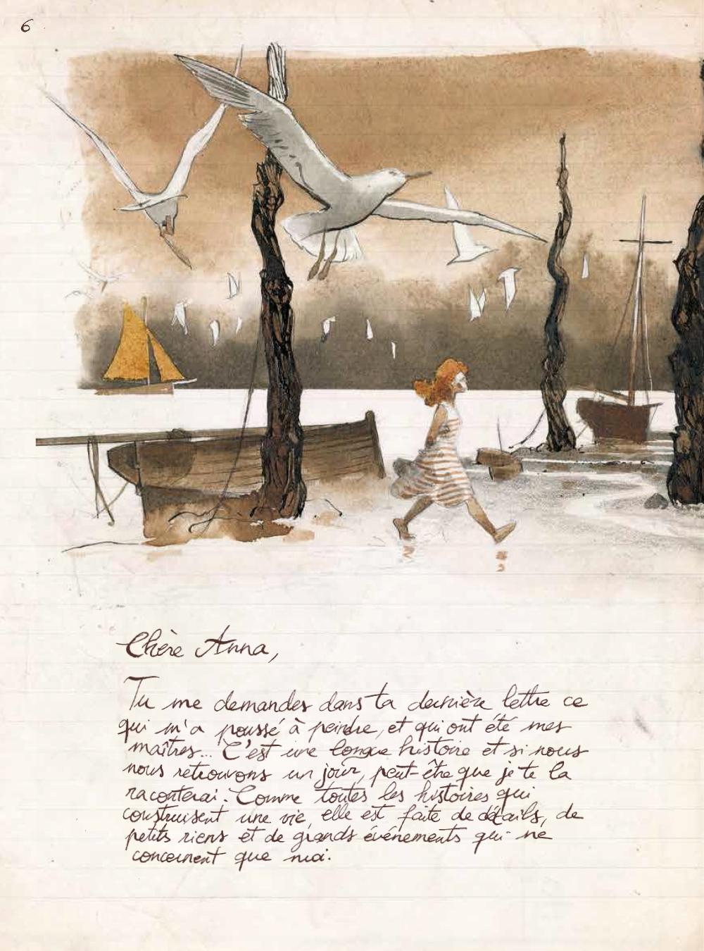 Extrait n°3 de la bd Les Voyages de Jules par René Follet
