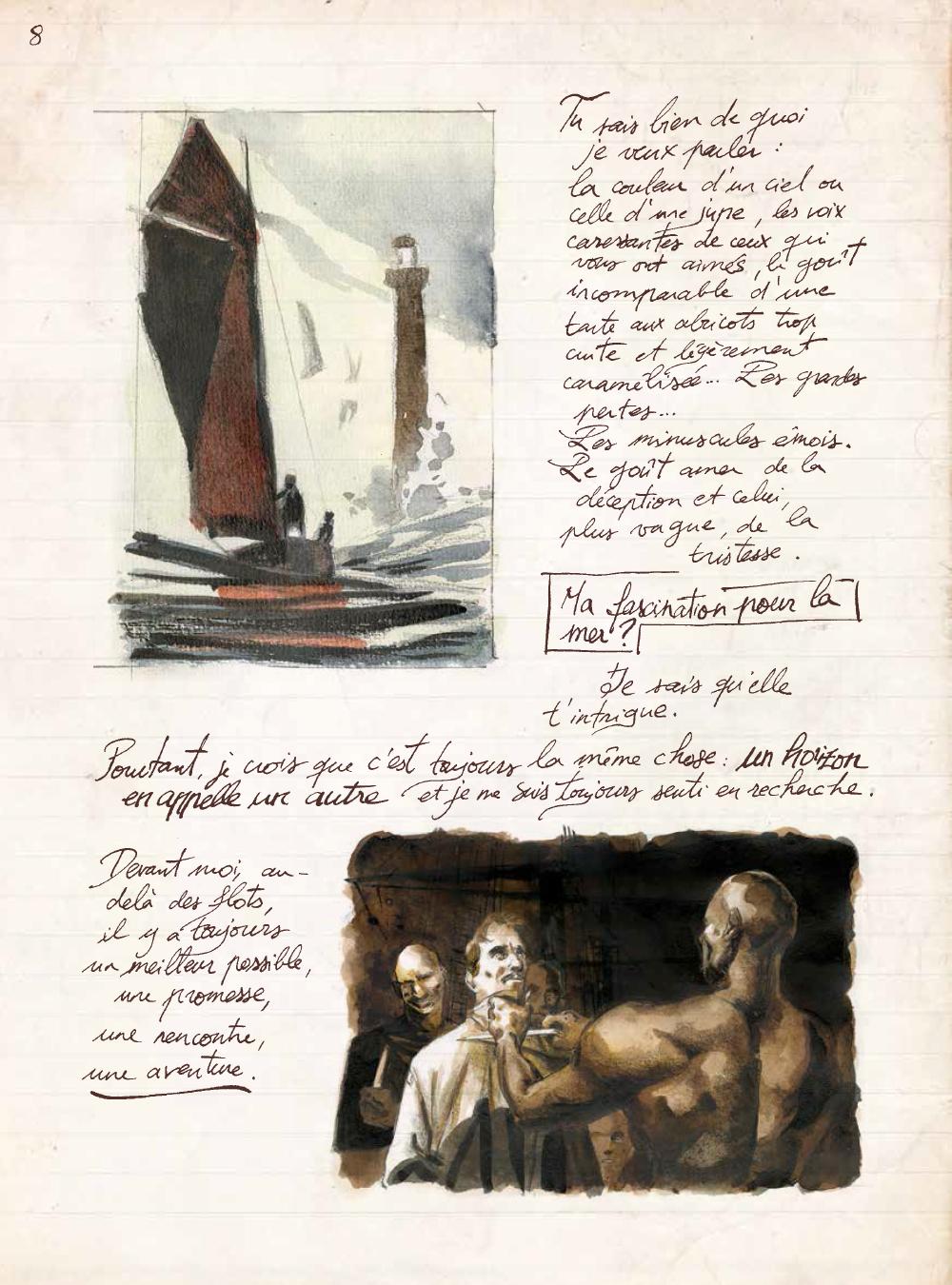 Extrait n°5 de la bd Les Voyages de Jules par René Follet
