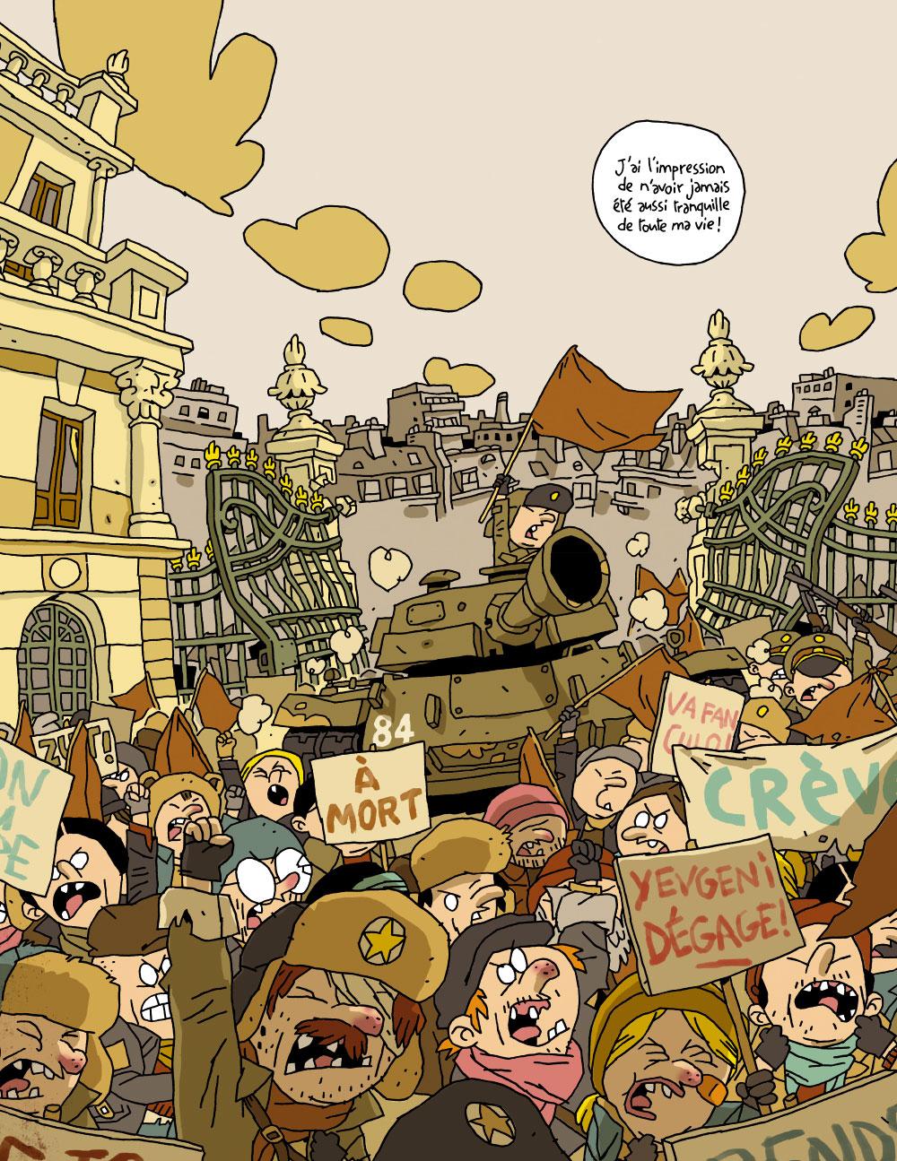 Extrait n°6 de la bd Cher Dictateur par Caloucalou