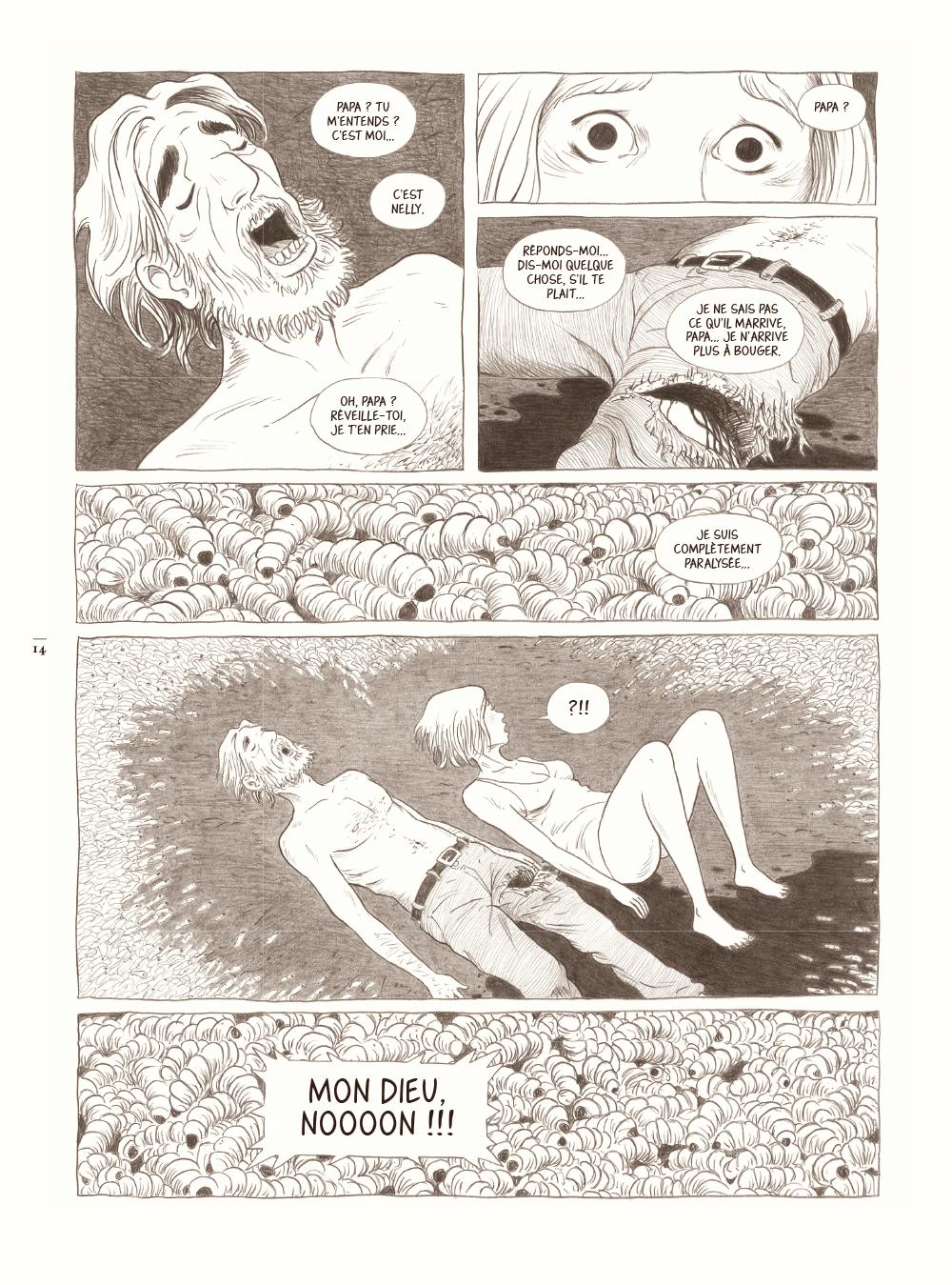 Extrait n°4 de la bd Dans la forêt par Lömig