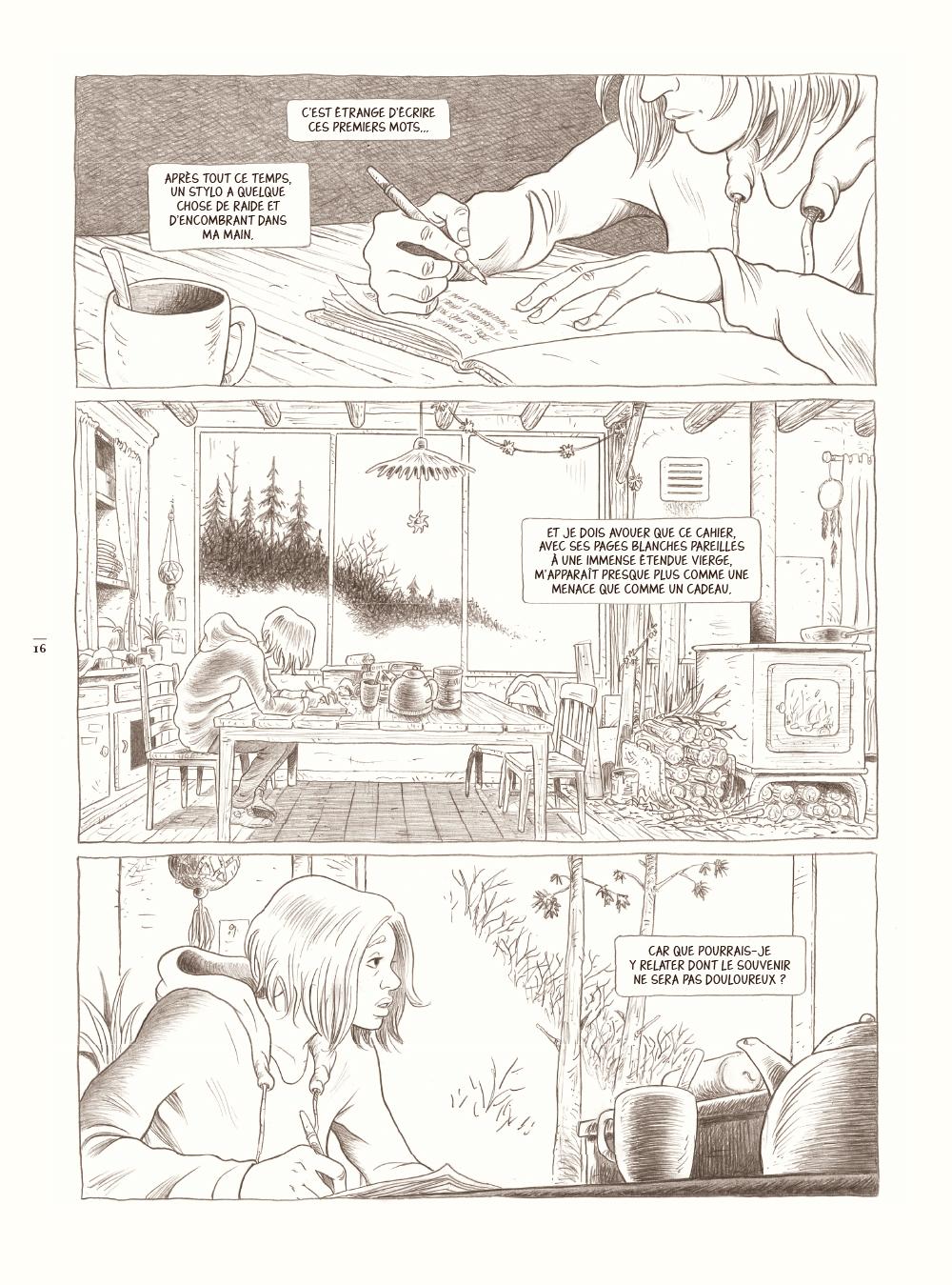 Extrait n°6 de la bd Dans la forêt par Lömig