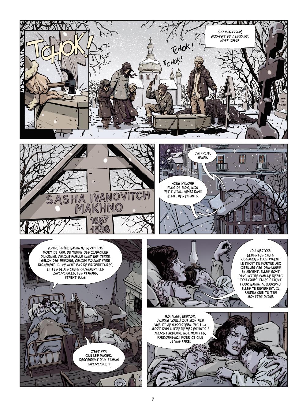 Extrait n°5 de la bd tome 1 par Philippe Thirault
