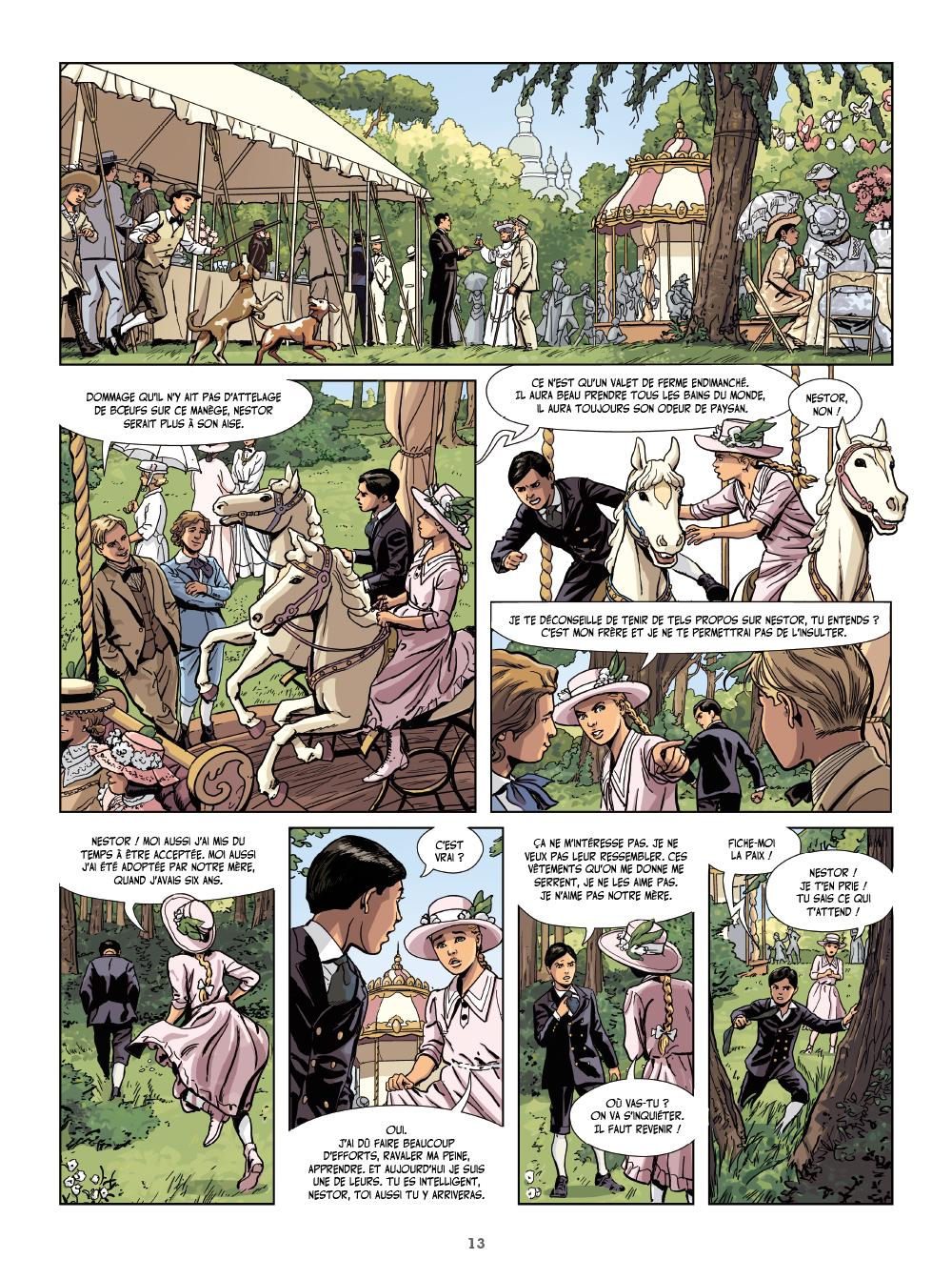 Extrait n°11 de la bd tome 1 par Philippe Thirault