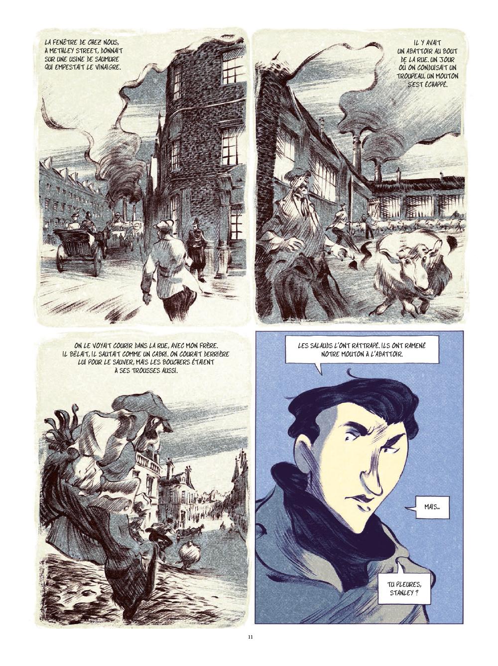 Extrait n°8 de la bd tome 1 par Laurent Seksik