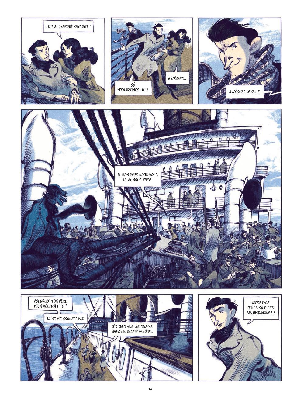 Extrait n°11 de la bd tome 1 par Laurent Seksik