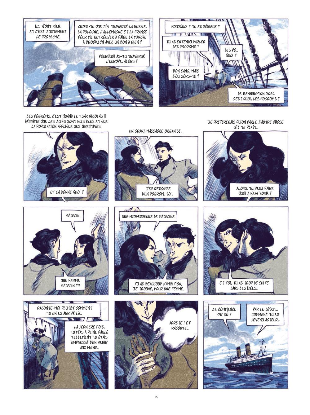 Extrait n°12 de la bd tome 1 par Laurent Seksik