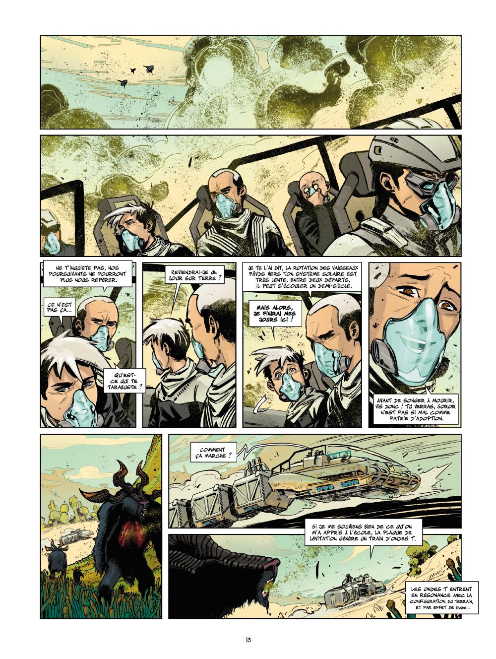 Extrait n°9 de la bd tome 1 par Laurent Genefort