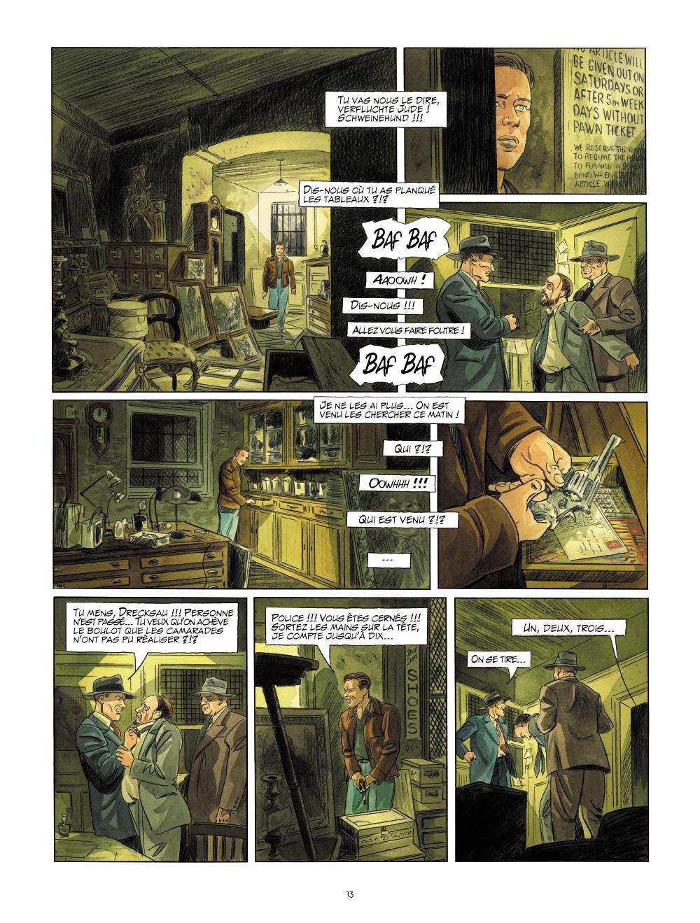 Extrait n°12 de la bd tome 1 par Raives