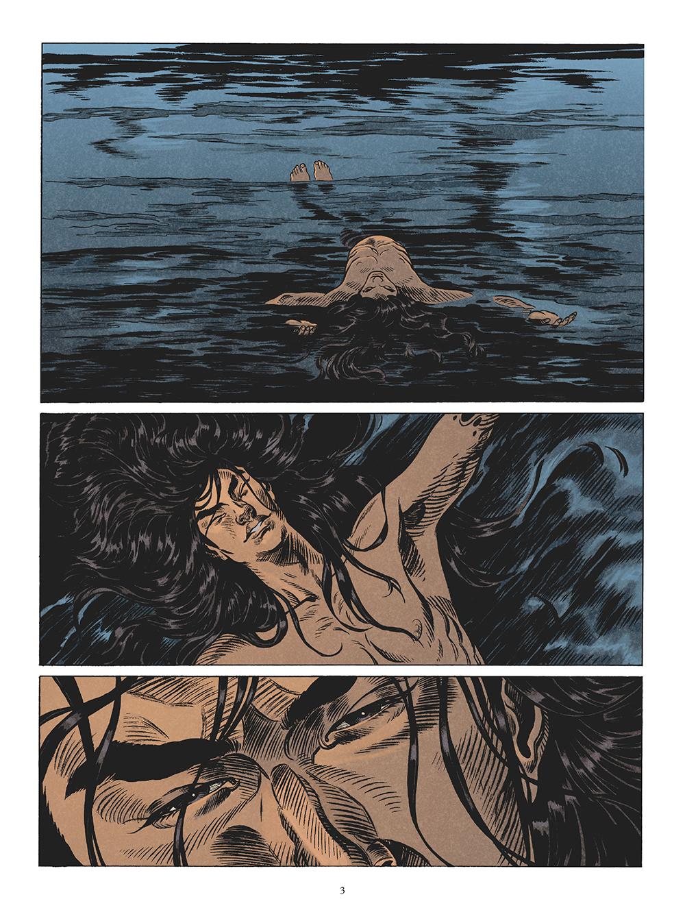 Extrait n°1 de la bd tome 3 par Michaël Le Galli