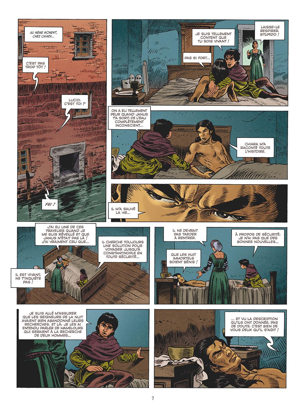 Extrait n°5 de la bd tome 3 par Michaël Le Galli
