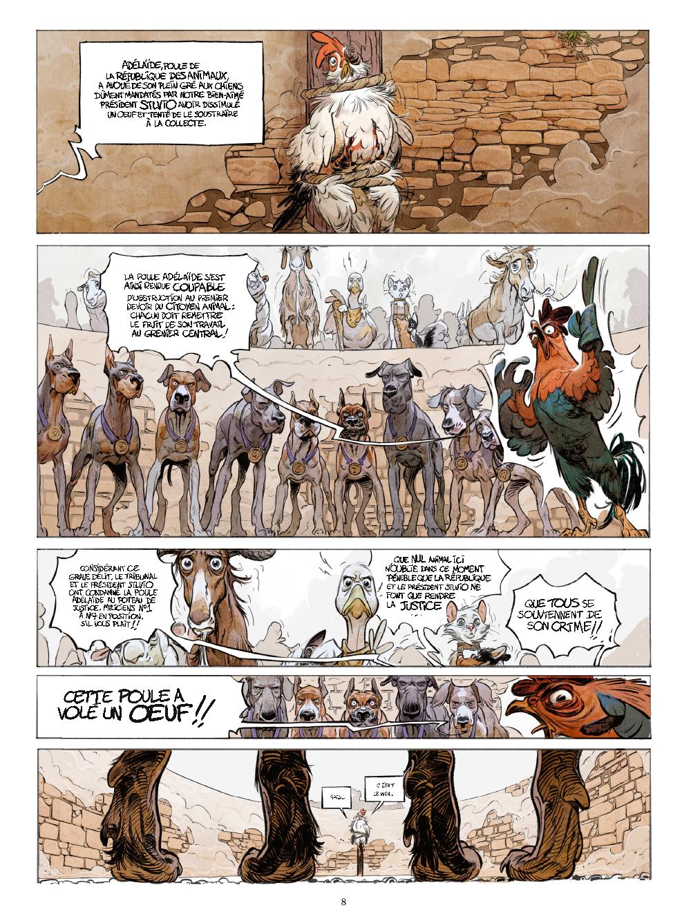 Extrait n°3 de la bd tome 1 par Xavier Dorison