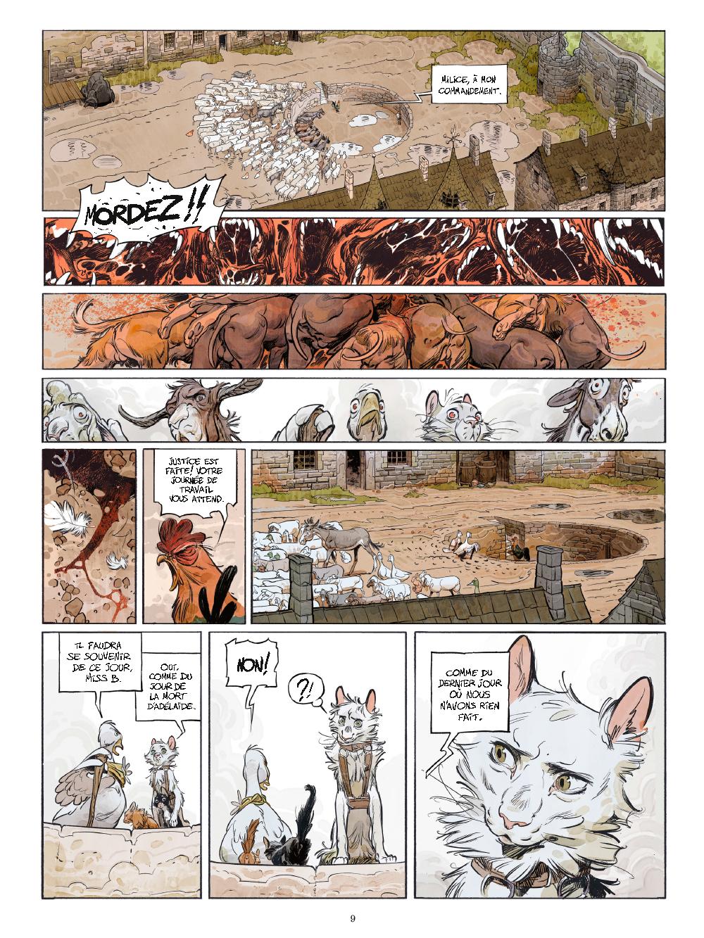 Extrait n°4 de la bd tome 1 par Xavier Dorison