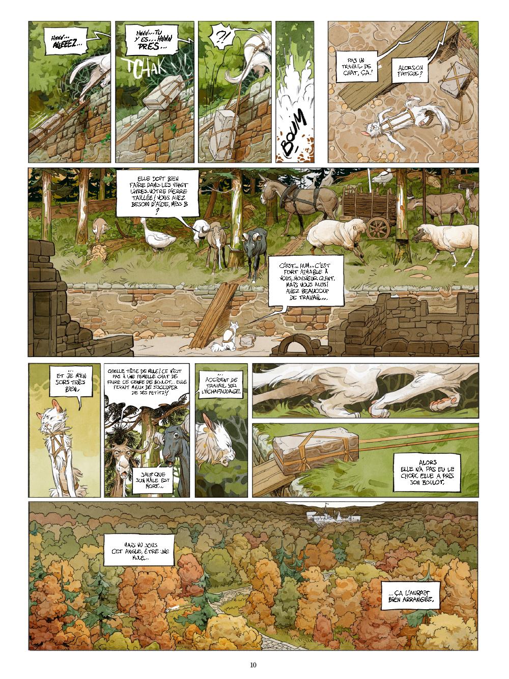 Extrait n°5 de la bd tome 1 par Xavier Dorison