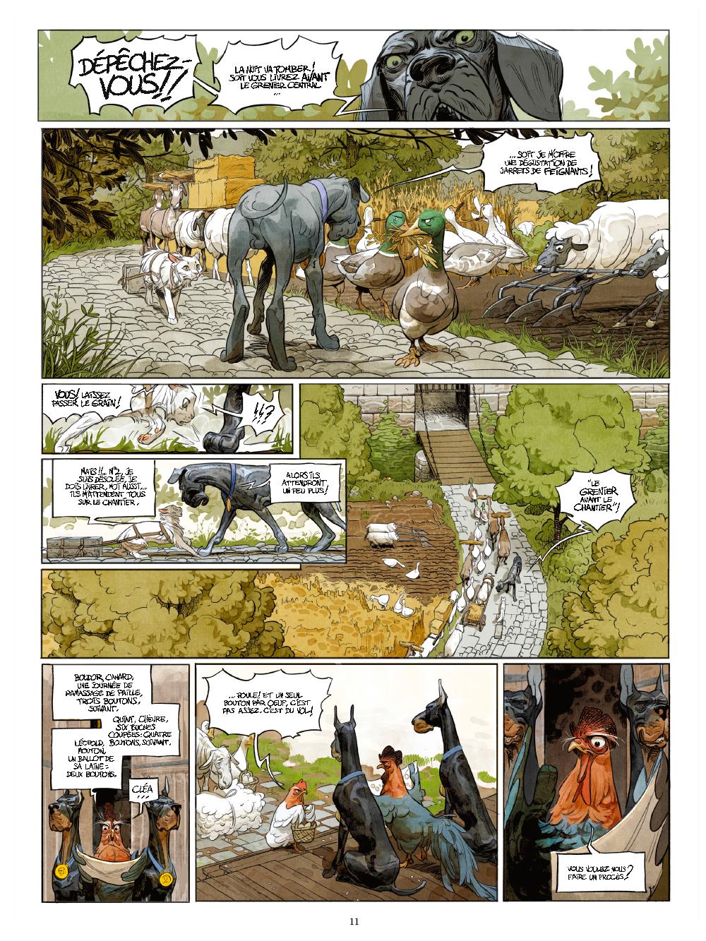 Extrait n°6 de la bd tome 1 par Xavier Dorison