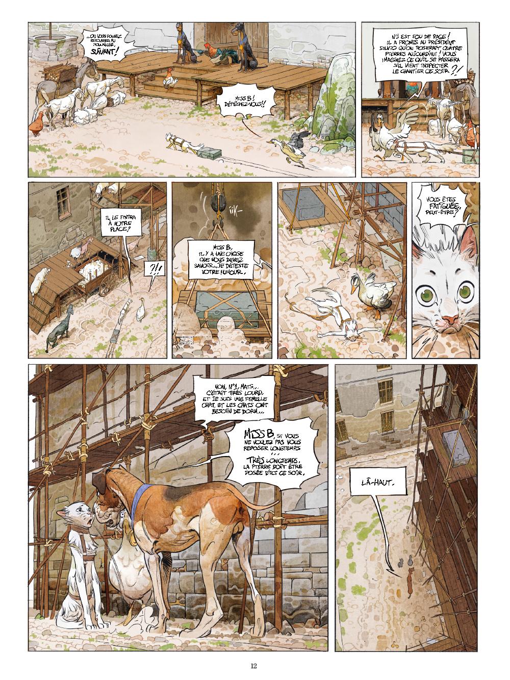 Extrait n°7 de la bd tome 1 par Xavier Dorison