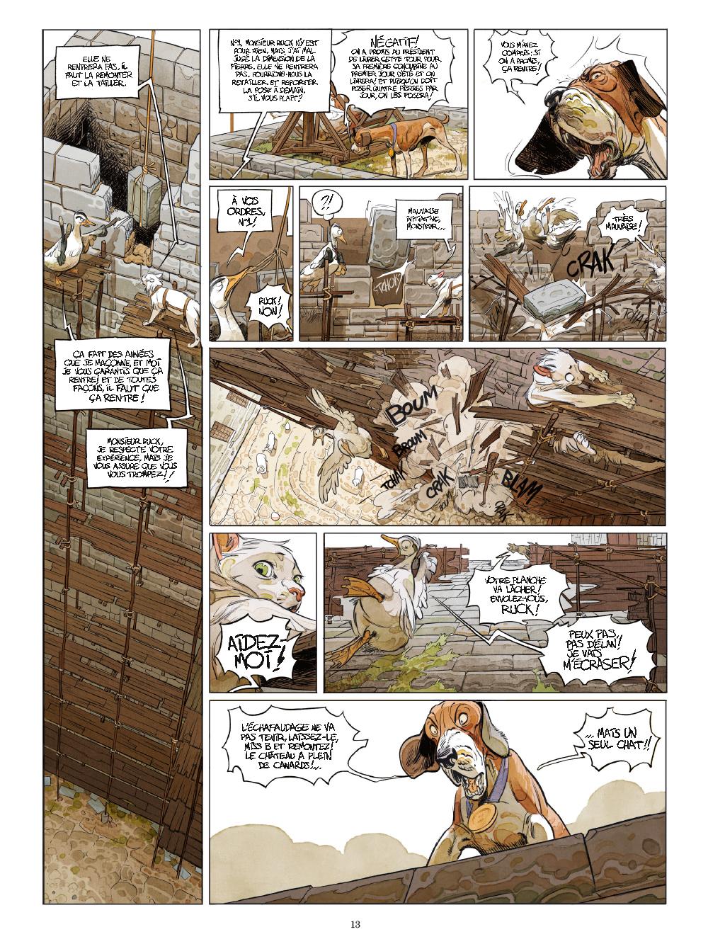 Extrait n°8 de la bd tome 1 par Xavier Dorison