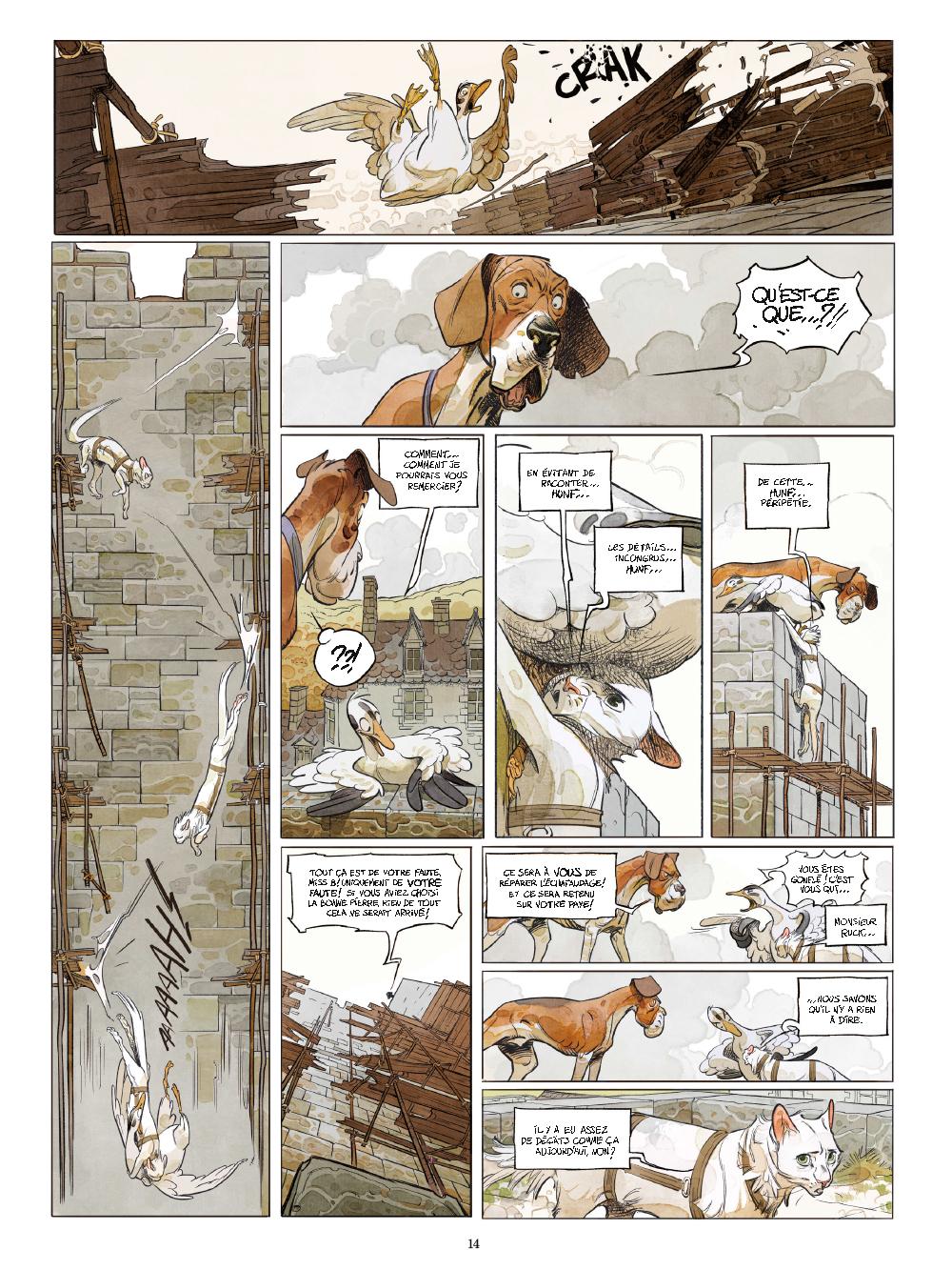 Extrait n°9 de la bd tome 1 par Xavier Dorison