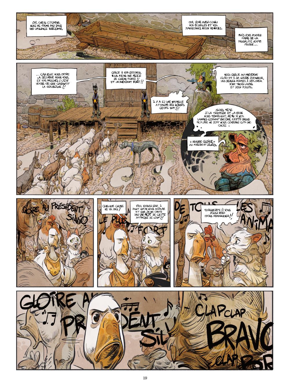 Extrait n°14 de la bd tome 1 par Xavier Dorison