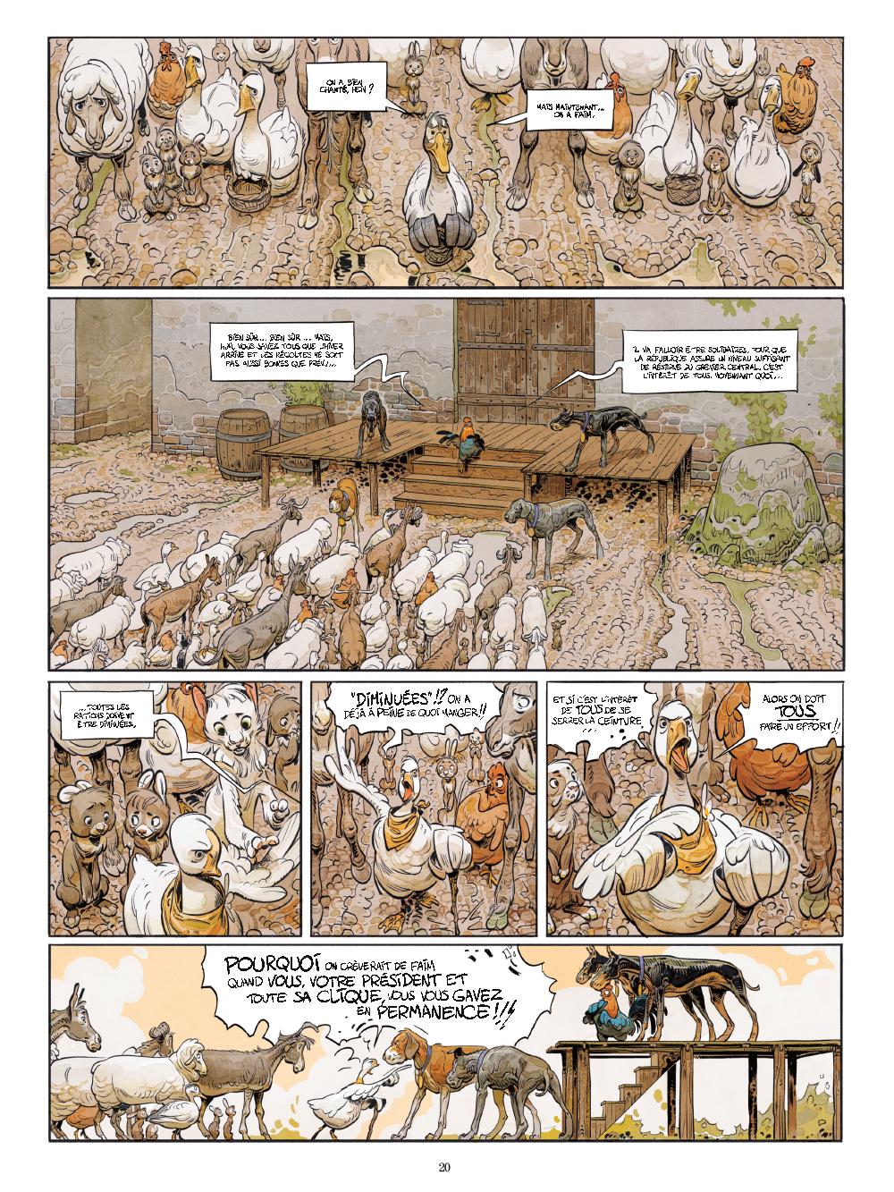 Extrait n°15 de la bd tome 1 par Xavier Dorison