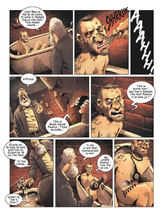 Extrait n°2 de la bd tome 2 par Julien Gaet's