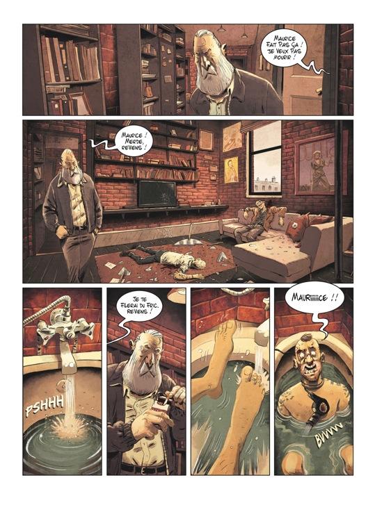 Extrait n°3 de la bd tome 2 par Julien Gaet's