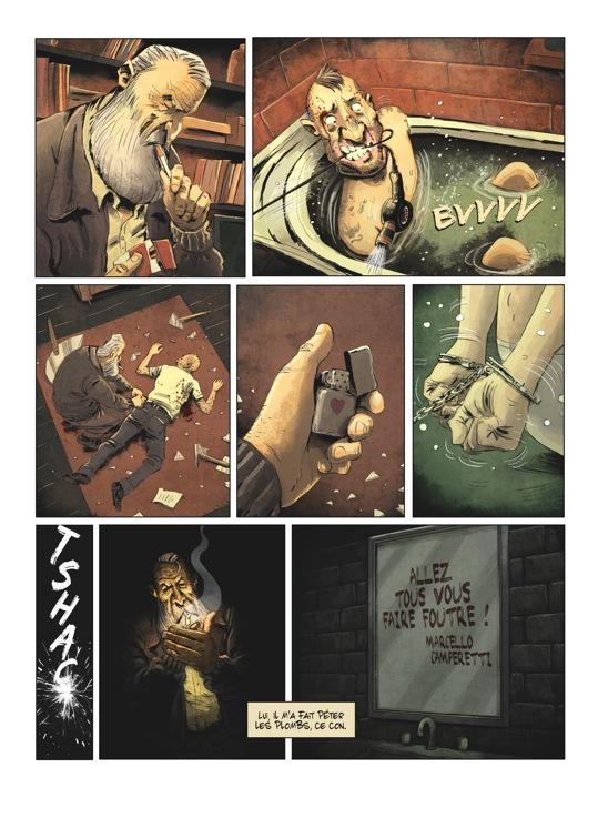 Extrait n°4 de la bd tome 2 par Julien Gaet's