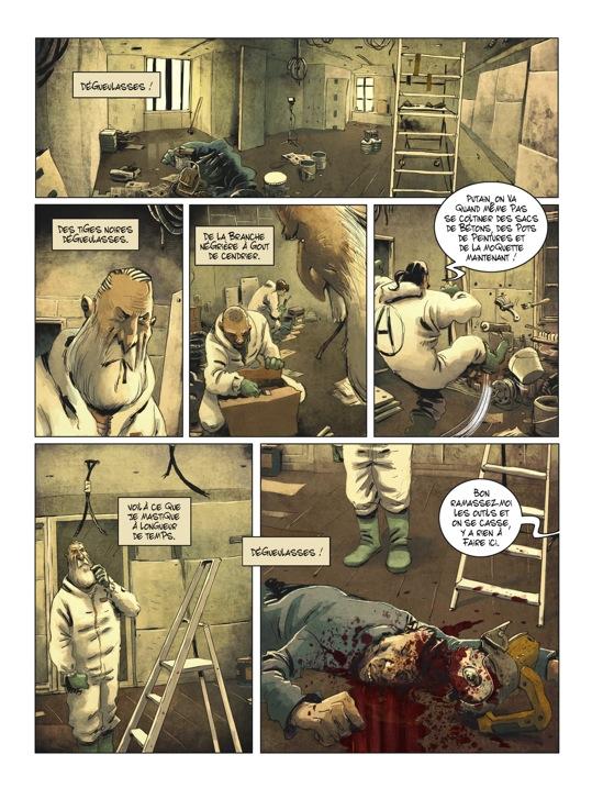 Extrait n°5 de la bd tome 2 par Julien Gaet's