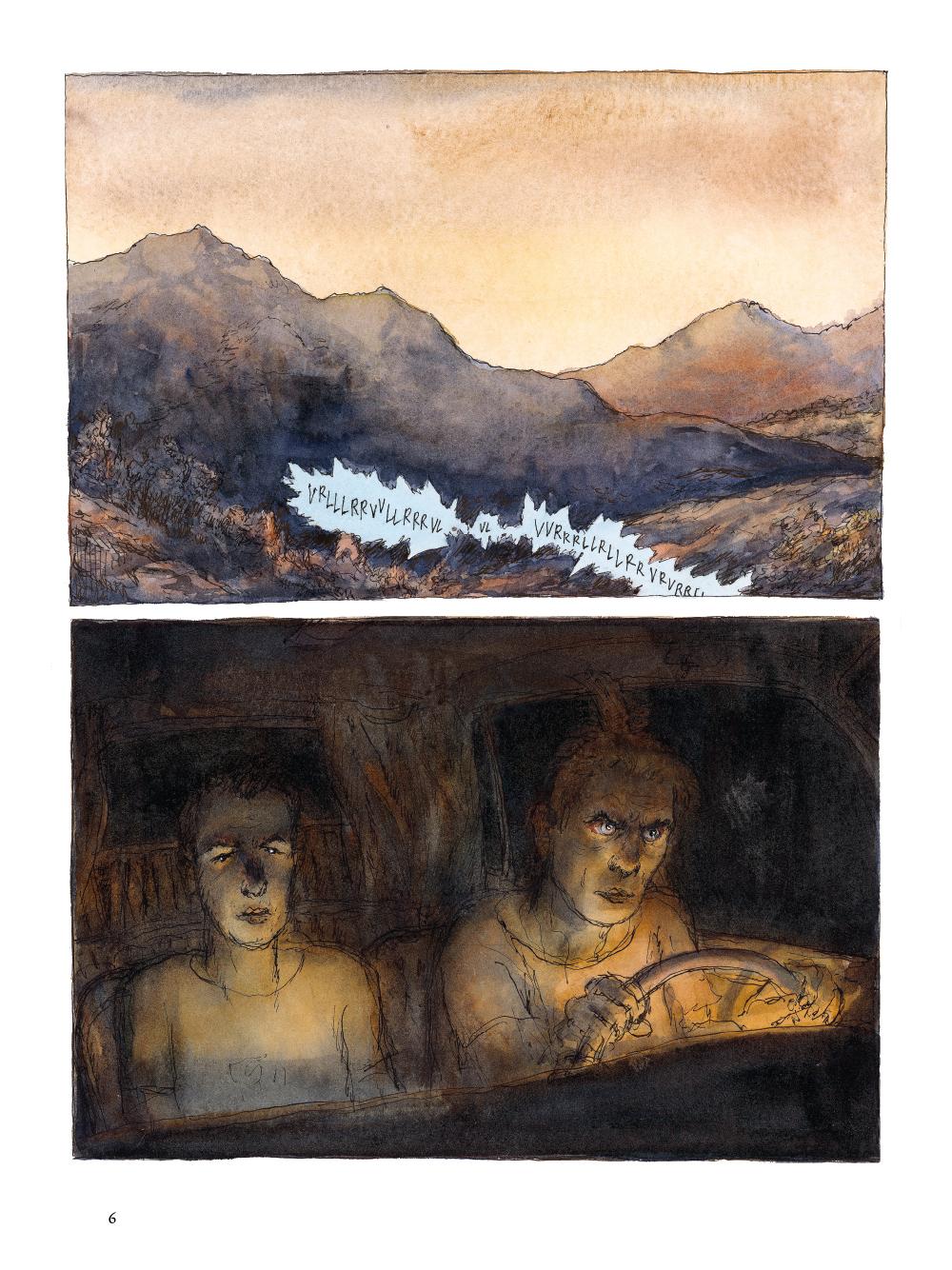 Extrait n°2 de la bd tome 1 par Nicolas De Crécy