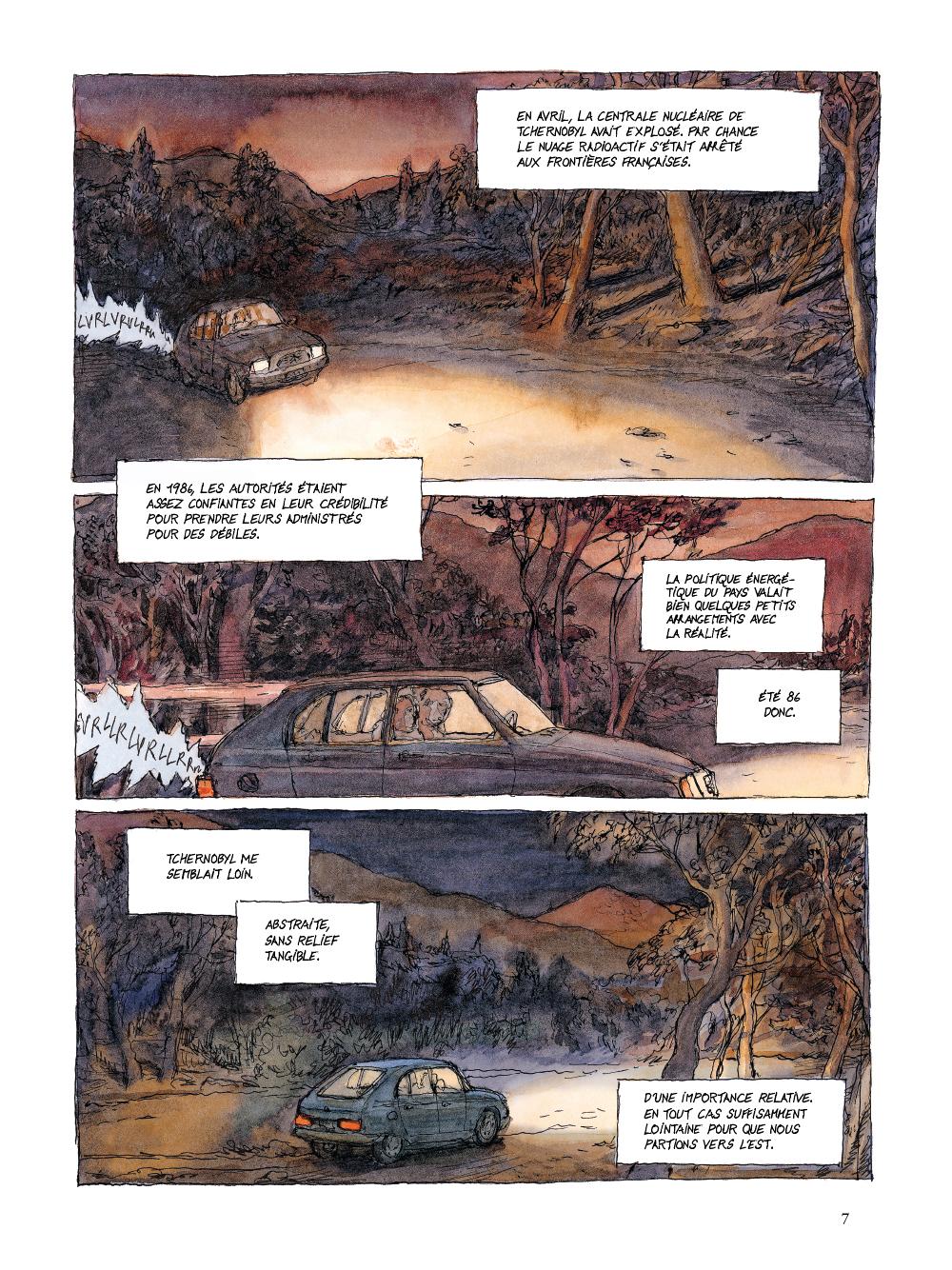 Extrait n°3 de la bd tome 1 par Nicolas De Crécy