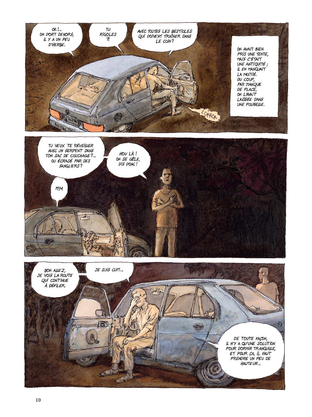 Extrait n°6 de la bd tome 1 par Nicolas De Crécy