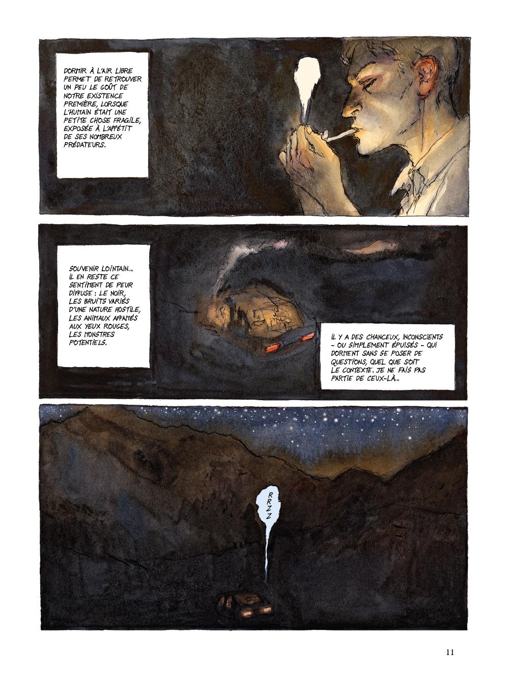 Extrait n°7 de la bd tome 1 par Nicolas De Crécy
