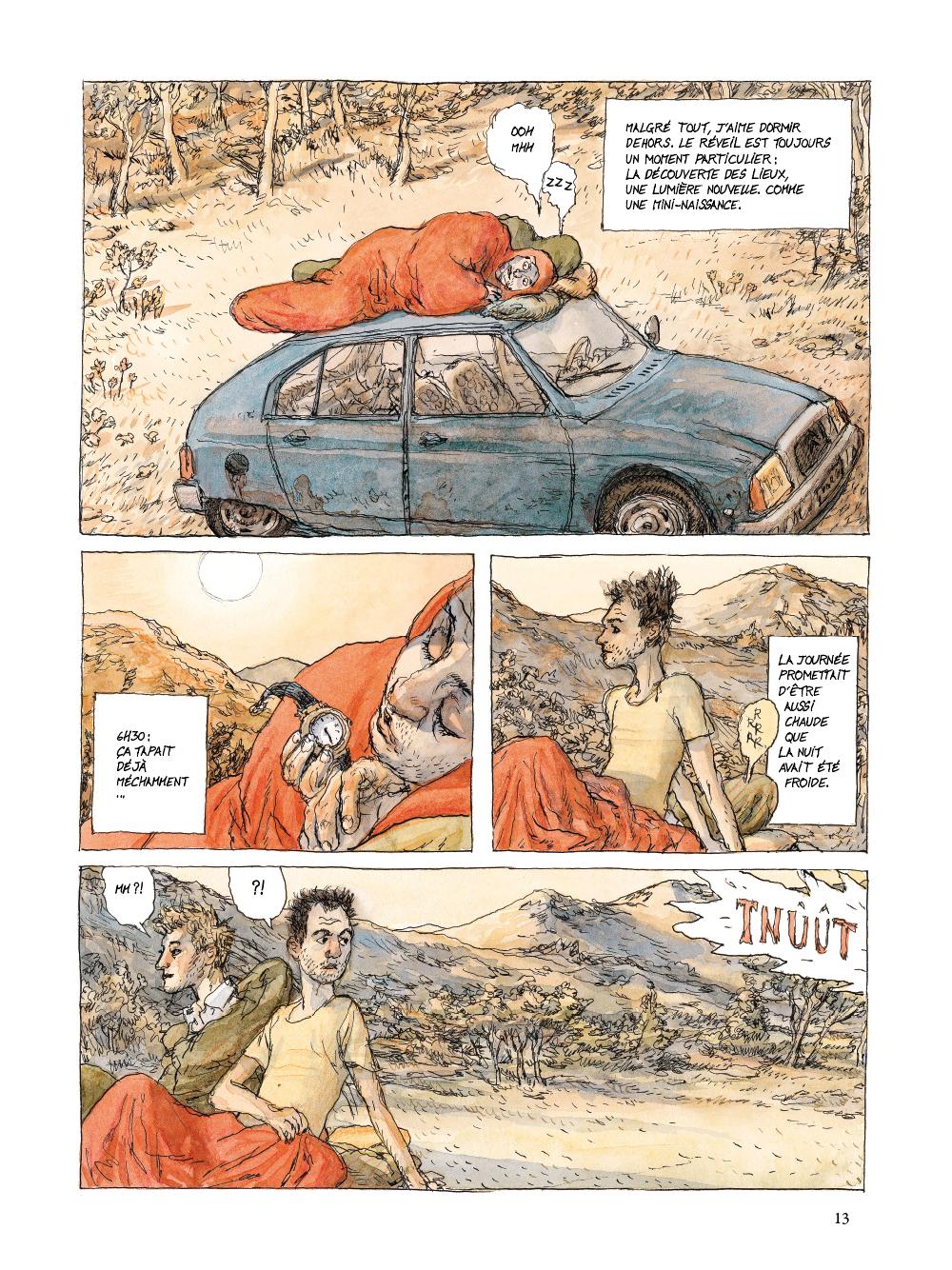 Extrait n°9 de la bd tome 1 par Nicolas De Crécy