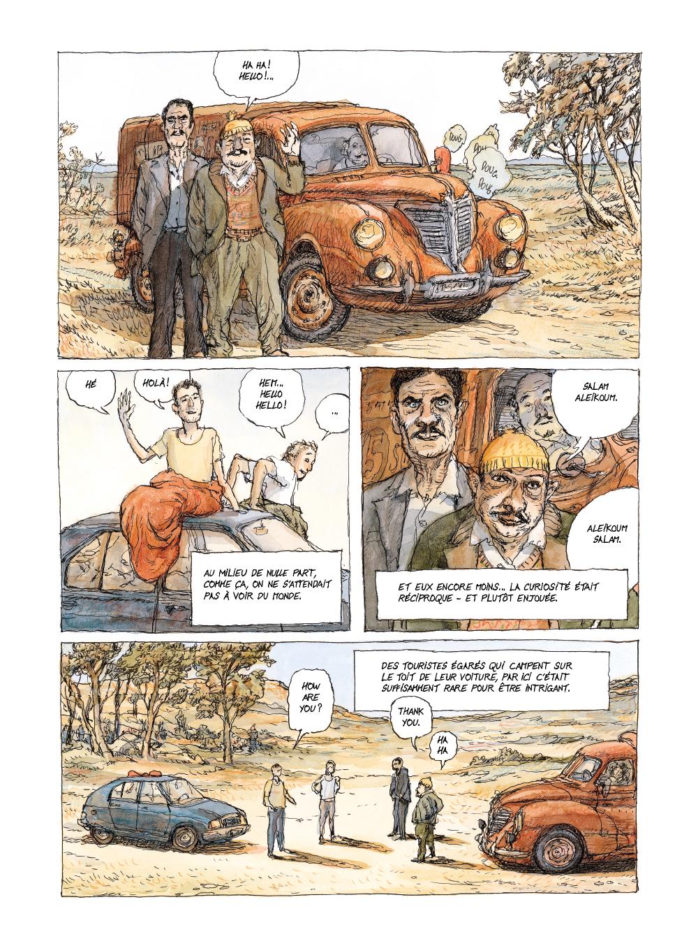 Extrait n°10 de la bd tome 1 par Nicolas De Crécy