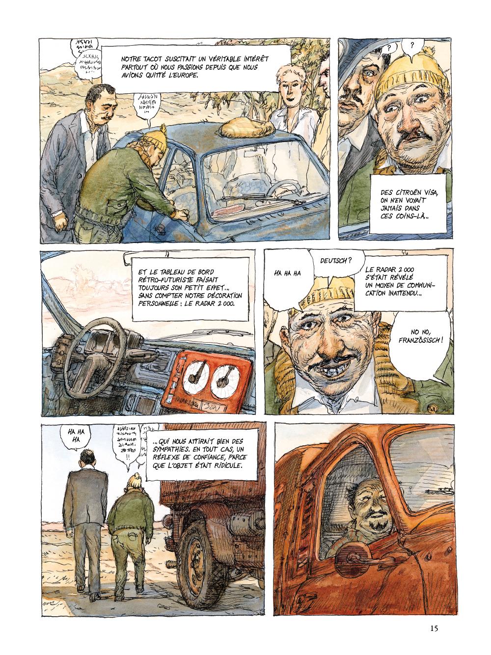 Extrait n°11 de la bd tome 1 par Nicolas De Crécy