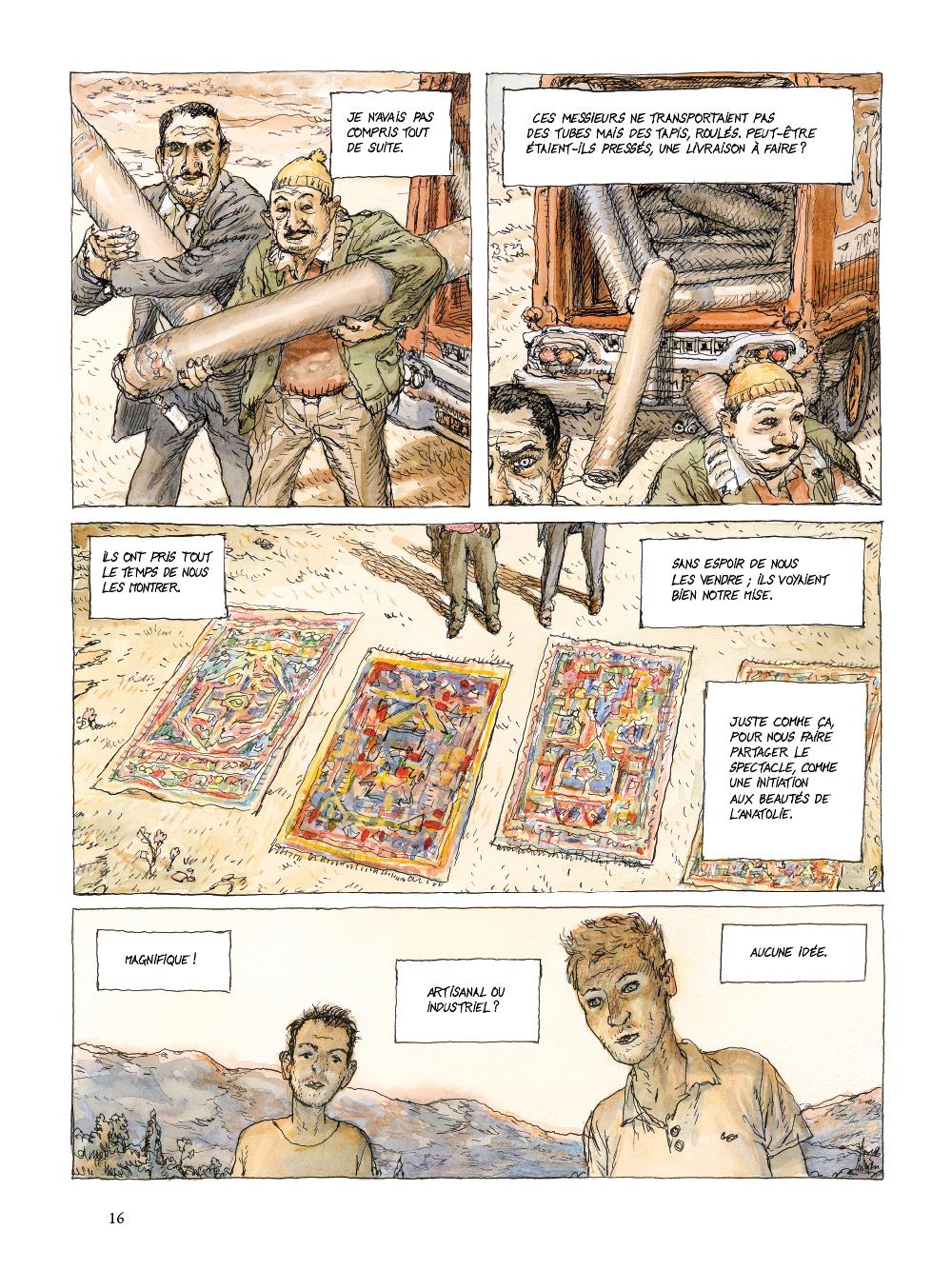 Extrait n°12 de la bd tome 1 par Nicolas De Crécy
