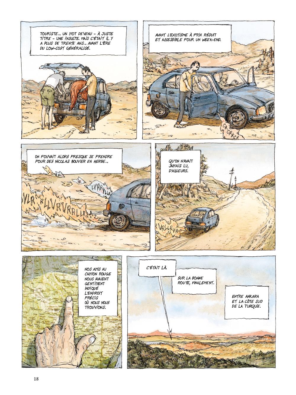 Extrait n°14 de la bd tome 1 par Nicolas De Crécy