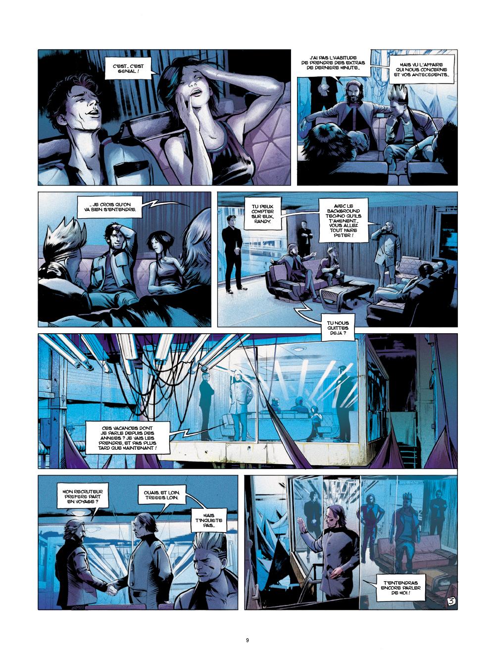 Extrait n°3 de la bd tome 1 par Sylvain Runberg