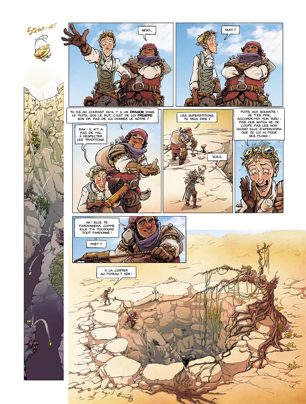 Dragon et Poisons - T.1 Greyson, Névo et Natch