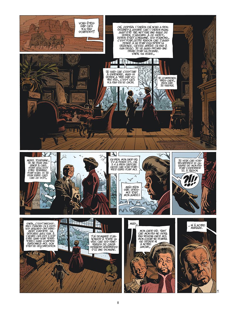 Extrait n°5 de la bd tome 5 par Xavier Dorison
