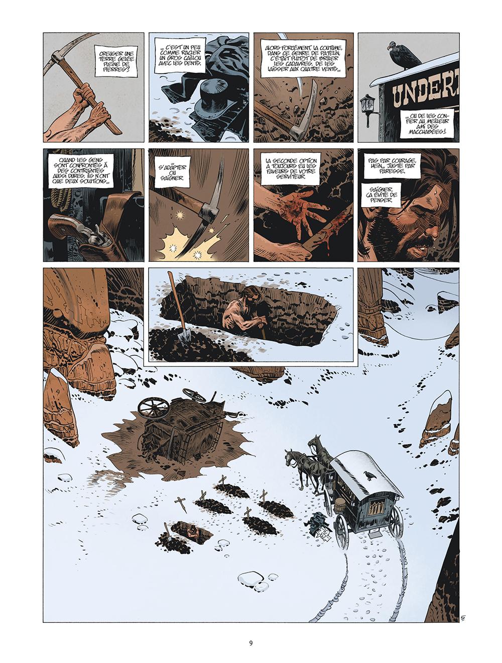 Extrait n°6 de la bd tome 5 par Xavier Dorison