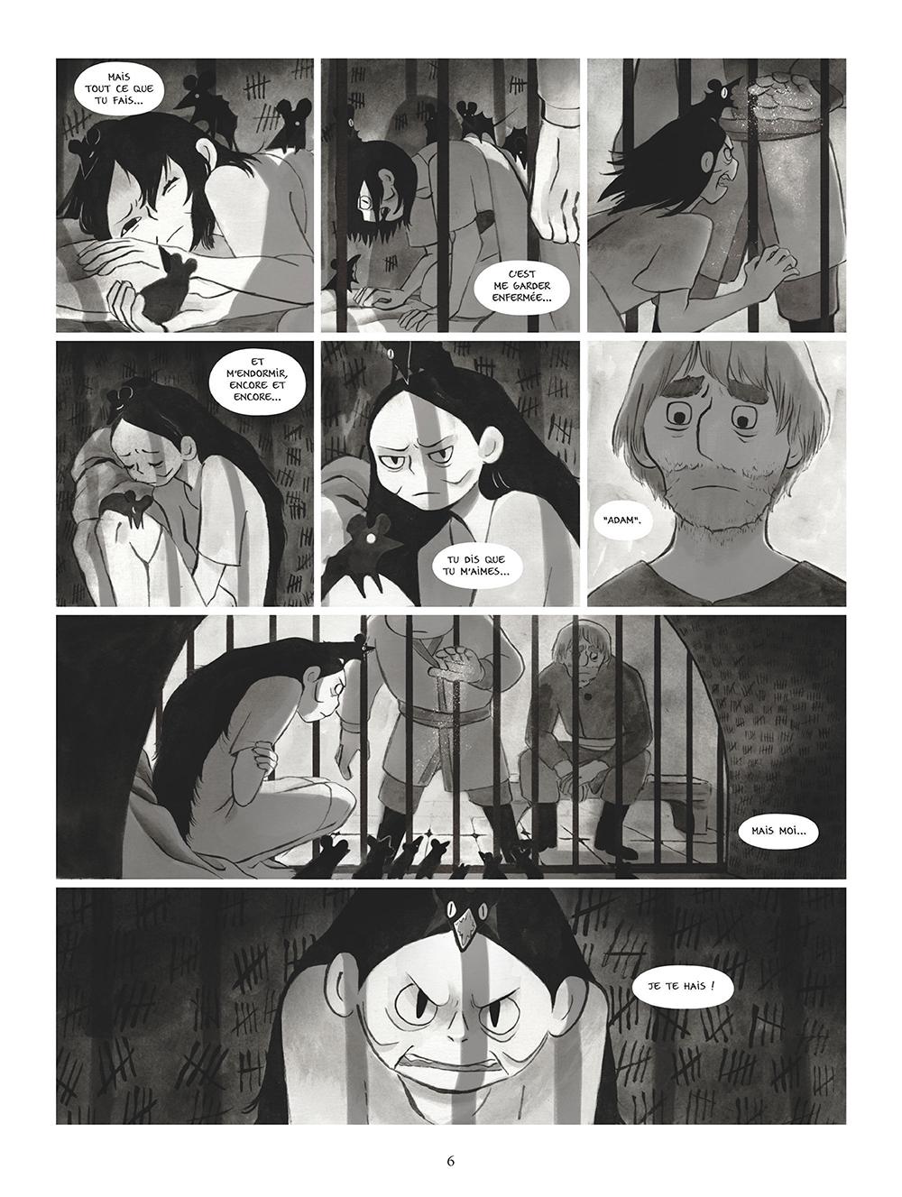 Extrait n°4 de la bd tome 3 par Amélie Fléchais
