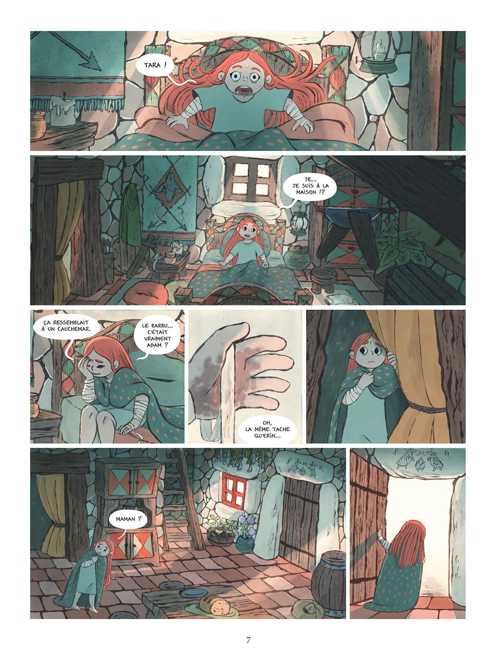 Extrait n°5 de la bd tome 3 par Amélie Fléchais
