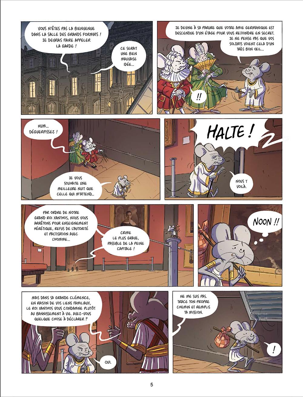 Extrait n°3 de la bd tome 2 par Joris Chamblain