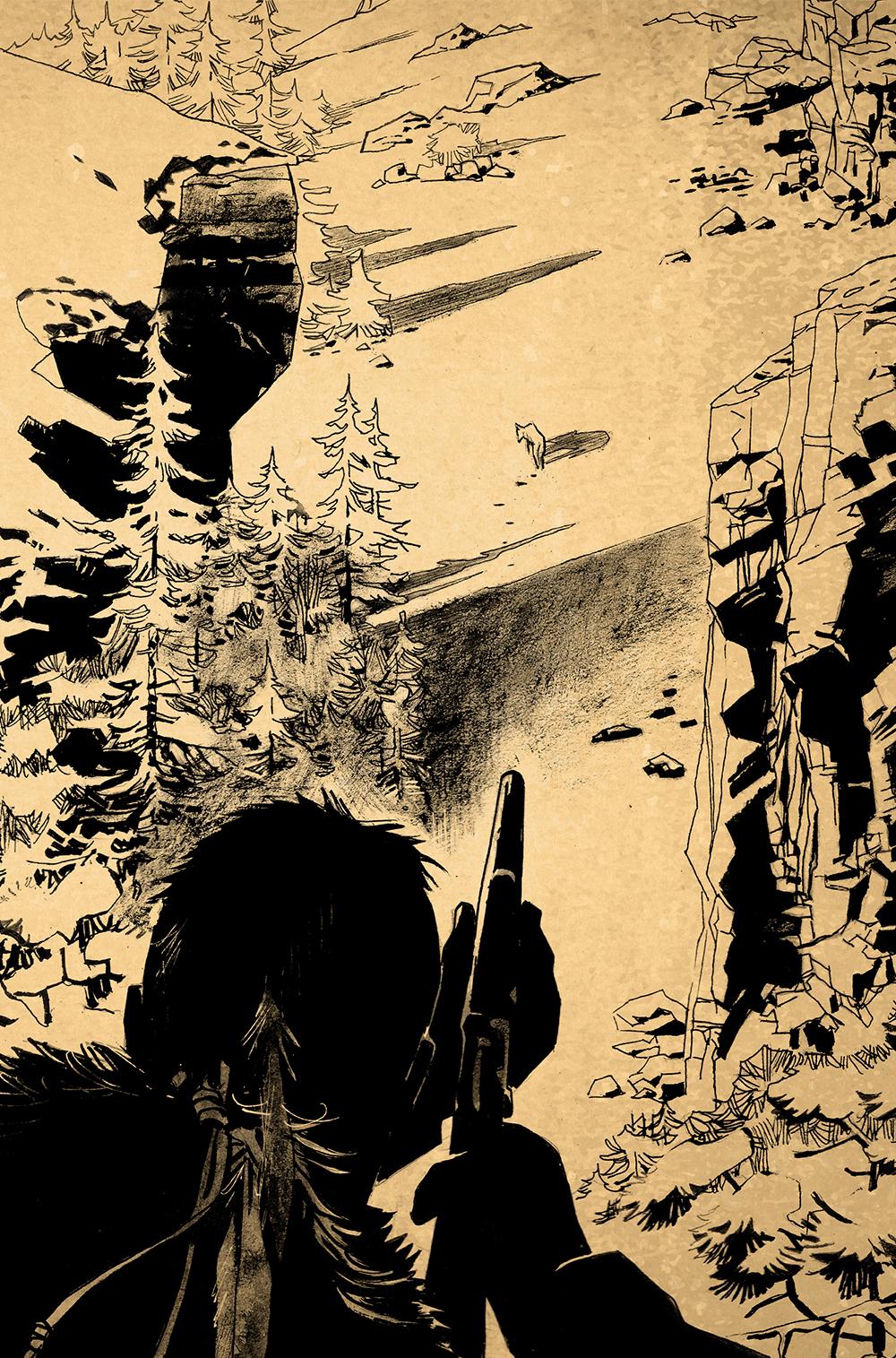 Extrait n°2 de la bd The Red Clay Chronicles par Roland Boschi