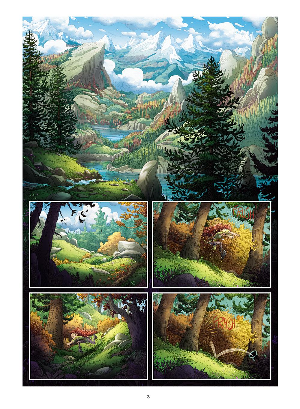 Les Mondes Cachés - T.4 La Vallée oubliée
