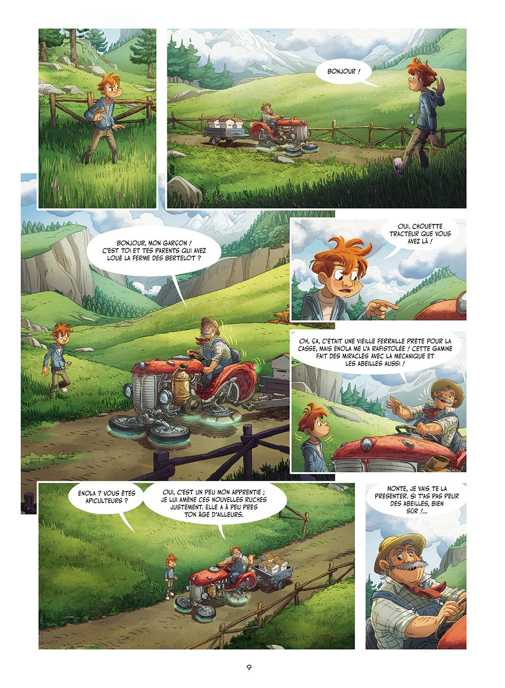 Extrait n°7 de la bd tome 4 par Denis-Pierre Filippi